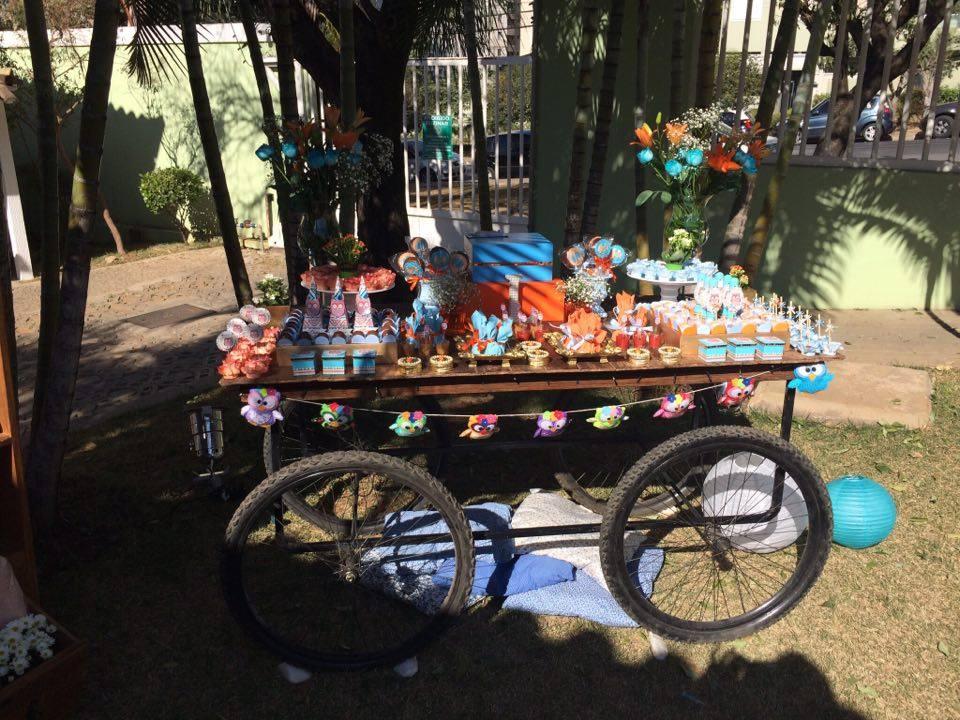 Festa infantil com tema coruja