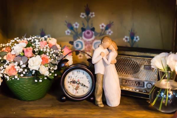 Decoração de casamento é um reflexo dos noivos