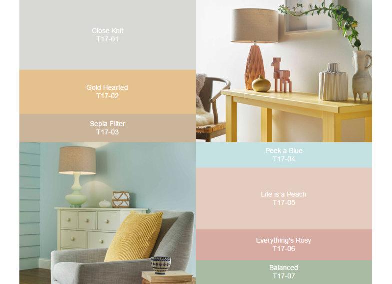 paleta de cores 2017