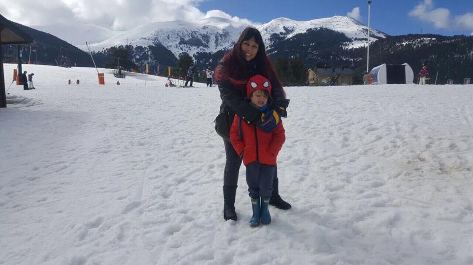 neve na Espanha