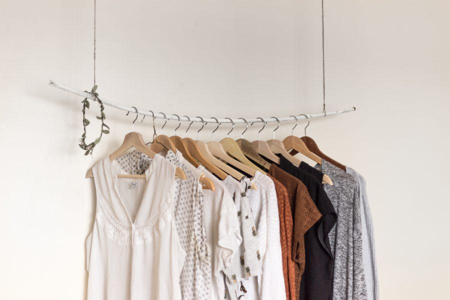Peças chave num guarda roupas