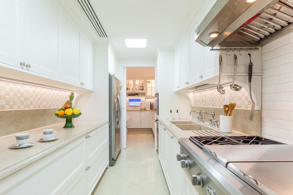 6 cozinhas brancas pra te inspirar