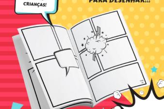 Download grátis História em Quadrinhos para o dia das crianças